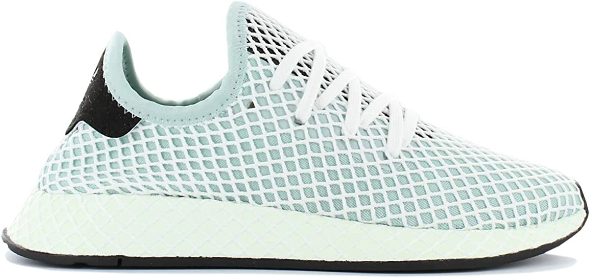 adidas Deerupt Runner W CQ2911 Dames Vert Chaussures Femme Sneaker Baskets Pointure: EU 40 UK 6.5