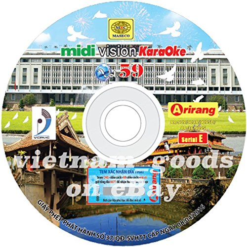 Galleon - Arirang Karaoke Vision Midi Disc Vol 59 Serial E
