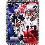 NFL Superbowl LI Champion Tom Brady New England Patriots Throw Blanket, NE Patriot