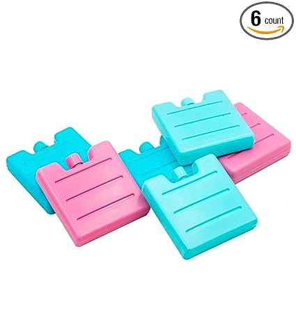 Amazon.com: Blue Ele - Paquete de hielo reutilizable – Mini ...