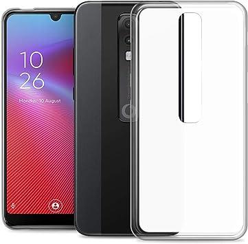 RIFFUE Funda Vodafone Smart V10, Carcasa Transparente Silicona ...
