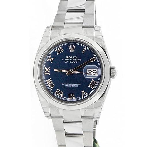 Rolex Datejust 36mm Blue Dial