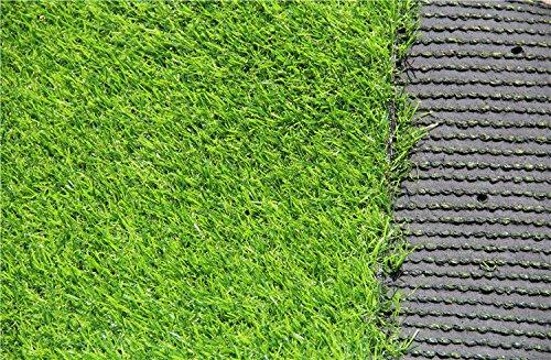 Mitefu three toned erba artificiale cm lama altezza naturale per