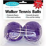 Pre-cut Walker Glide Balls - 15 Colors & Styles (Purple)