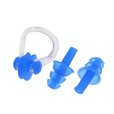Pince-nez et bouchons d'oreille Nager d'oreille Sport Plug Nose clipear Plug Set