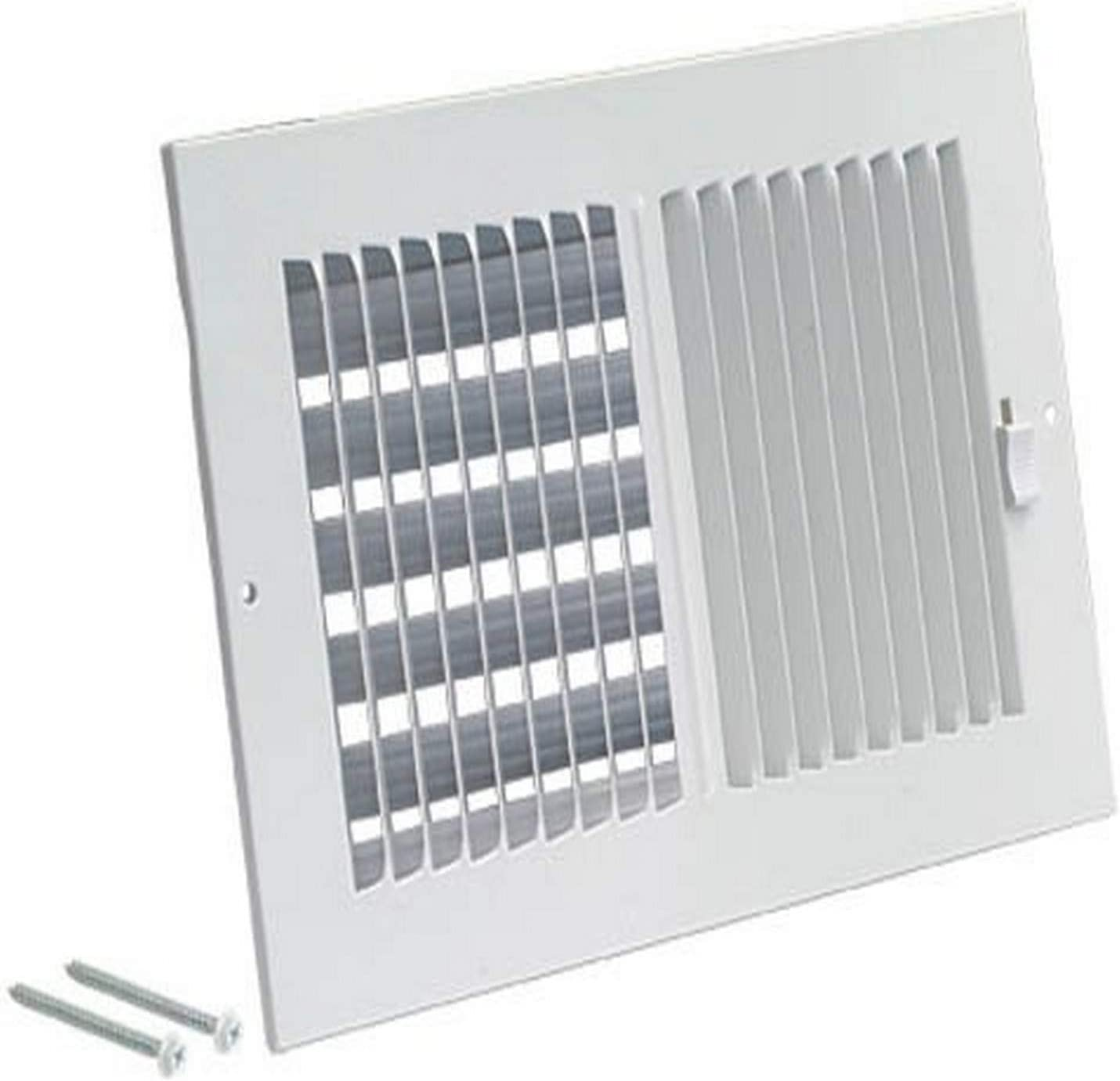 EZ-FLO 61662 Two-Way Ventilation Steel Sidewall/Ceiling Register, 14