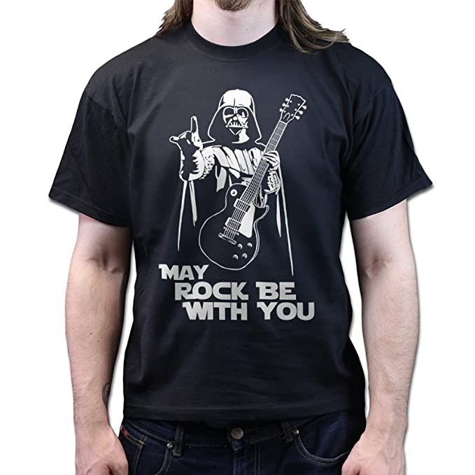 May Rock Force Be With You Darth Les Paul Standard 59 Guitar T-shirt:  Amazon.de: Bekleidung