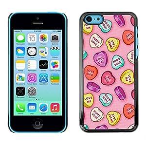 PC/Aluminum Funda Carcasa protectora para Apple Iphone 5C butterfly beige pink teal purple spring / JUSTGO PHONE PROTECTOR