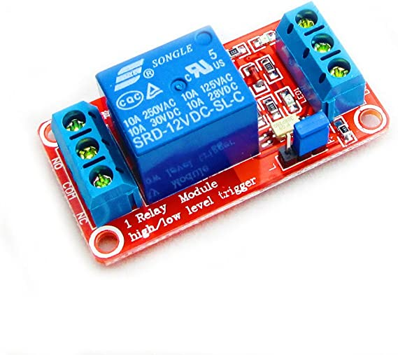 2 Channel 12V Relay Module Board Shield With Optocoupler Support Trigger Rela JE