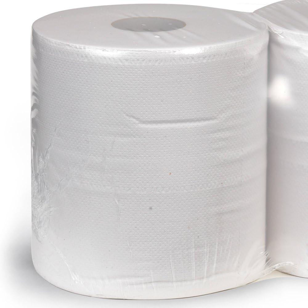 Unidades 3200 Strappi Bobina de papel de algodón de celulosa pura (4 rollos) para usos profesionales Qualita extra a dos capas rollo para alimentos Maxi Velcro 36 cm x 26 cm Cellulose: Amazon.es: Hogar