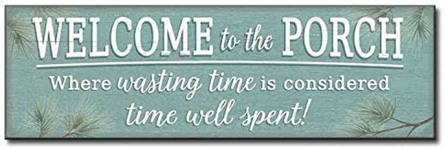 My Word! Welcome to The Porch Decorative Home Décor Wooden Signs