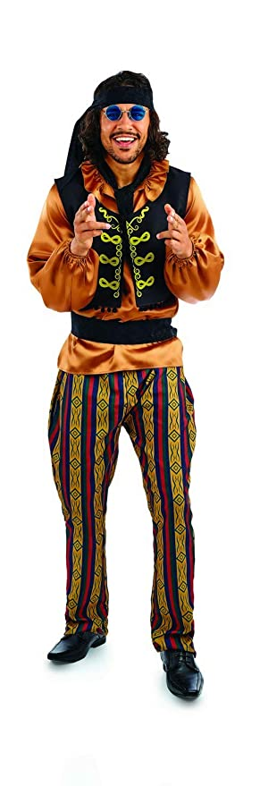 60s , 70s Hippie Clothes for Men fun shack Mens 70s Disco-Fever Rainbow Suit $22.95 AT vintagedancer.com