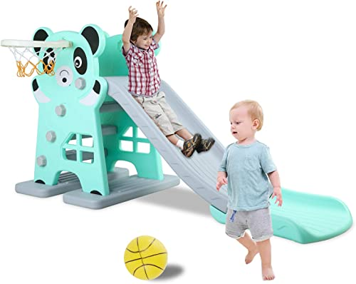 Lazy Buddy Kids Slide with panda theme