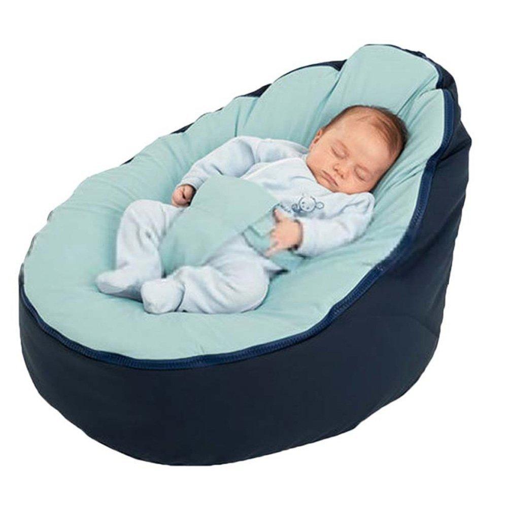 Baby Beanbag Snuggle Bett Ohne Füllung für Neugeborene Infant Kleinkind Zerlar HT-KBBYEC