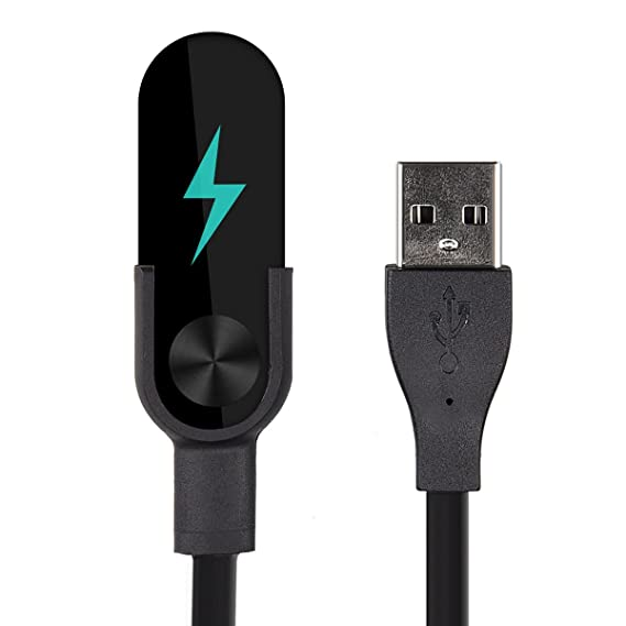 Amazon.com: kwmobile Cable de carga USB para Xiaomi Mi Band ...