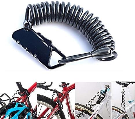Weyty - Mini candado para Bicicleta, restaurable, 3 dígitos ...
