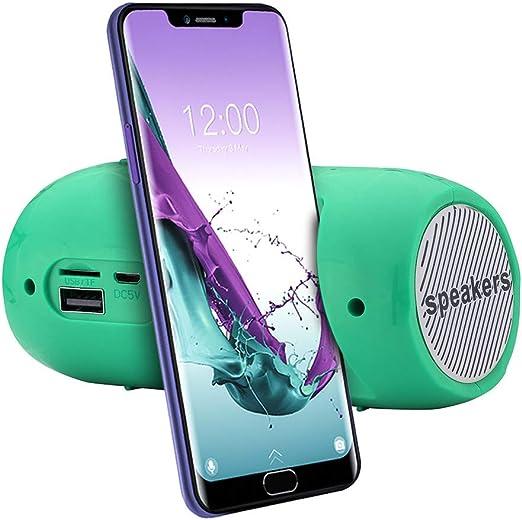 YDKJ Altavoz FM Tarjeta SD portátil estéreo inalámbrico Bluetooth ...