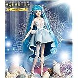fortune days Mystery Magic Girl BJD doll 12 inch Twelve constellation series doll (AQUARIUS)