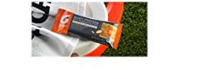 Gatorade Whey Protein With Almond Butter Bars, Almond Butter, 2.0 oz bars (Pack of 12, 20g of protein per bar)