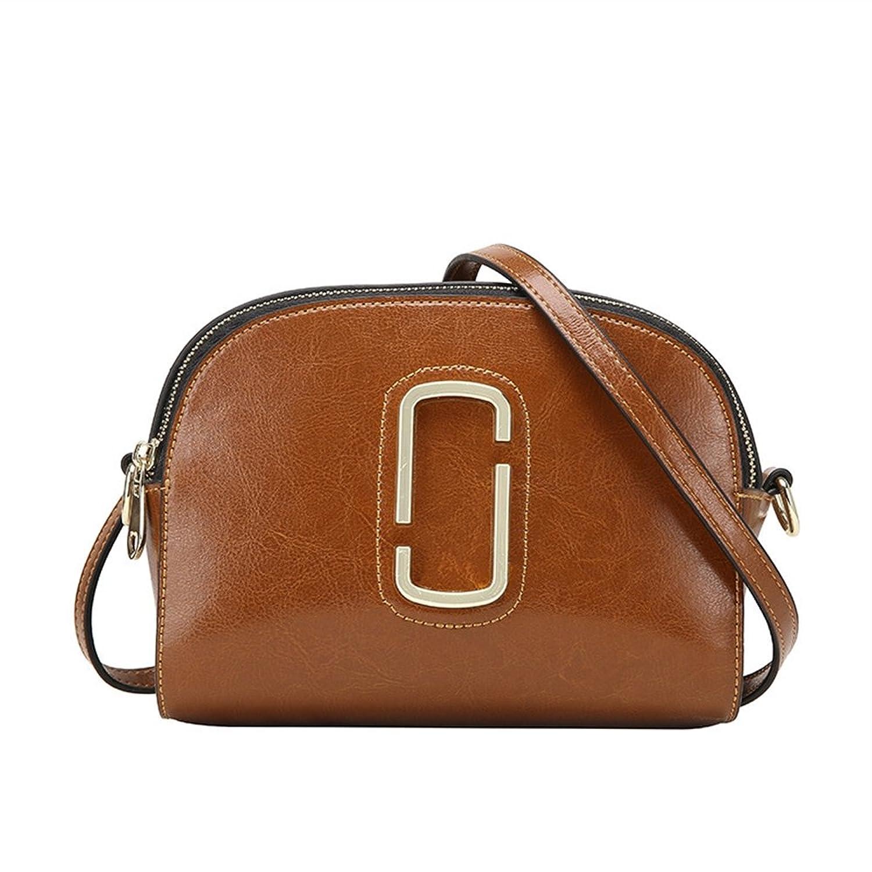BICOLOR Lady Genuine Leather Cross Body Shoulder Bag For Girl