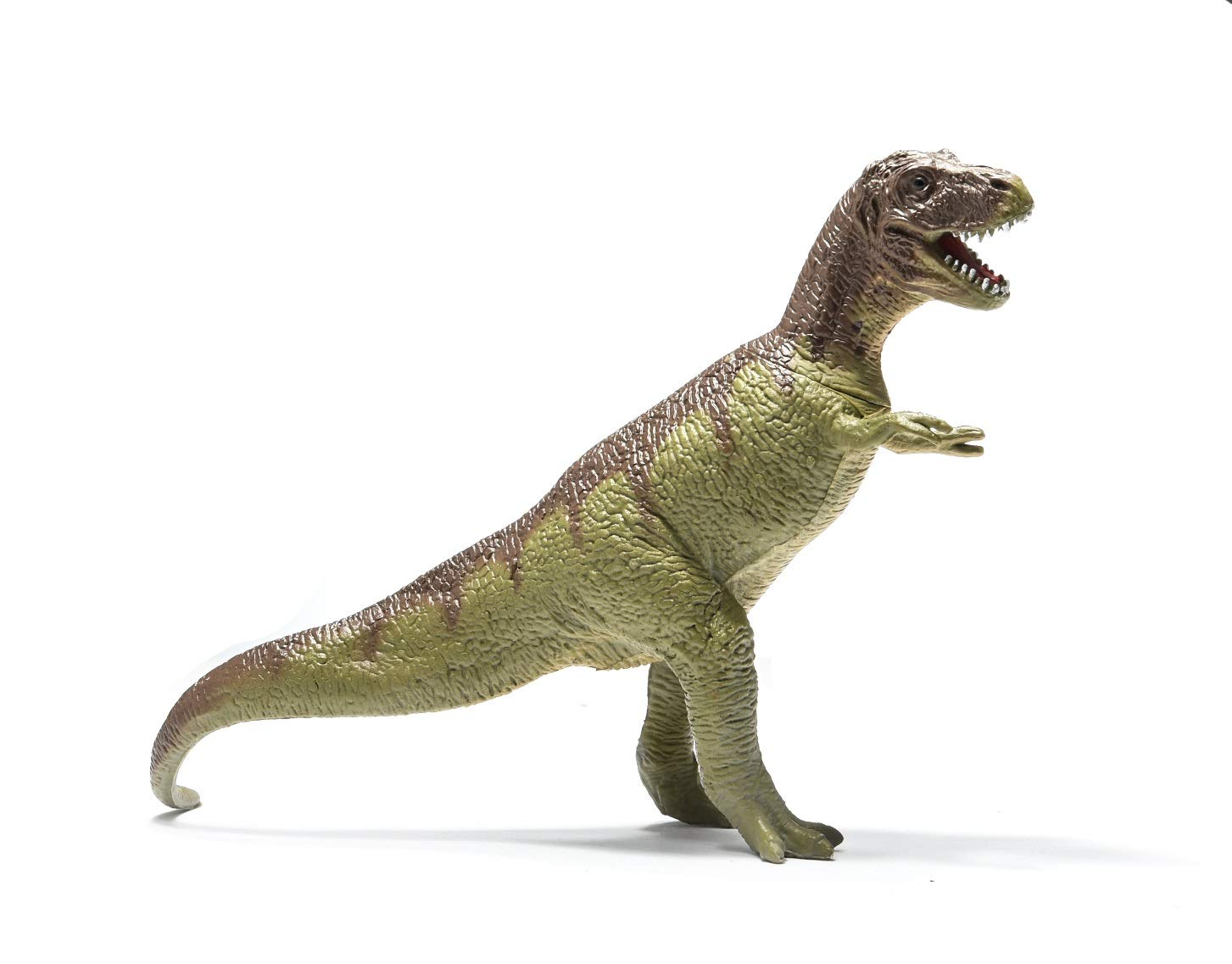 Prextex Realistic Looking 10'' Dinosaurs Pack of 12 Large Plastic Assorted Dinosaur Figures by Prextex (Image #4)