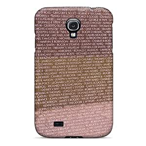 Durable Case For The Galaxy S4- Eco-friendly Retail Packaging(the Wall)