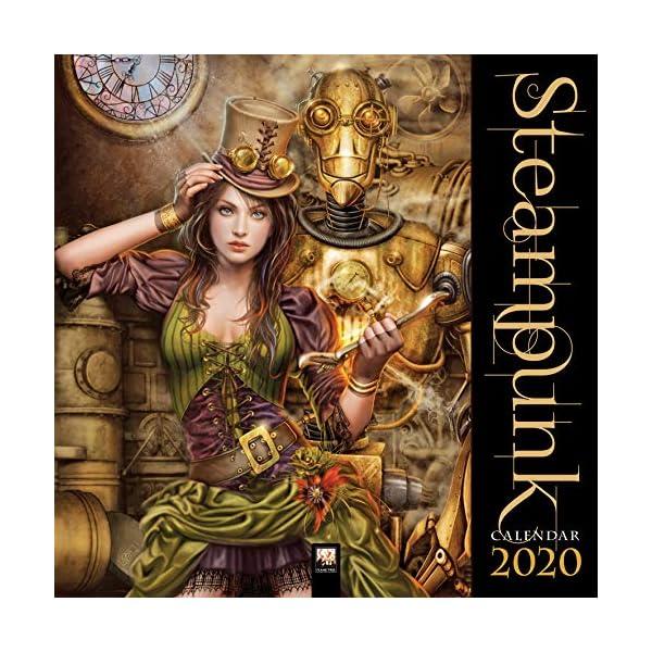 Steampunk Wall Calendar 2020 (Art Calendar) 3