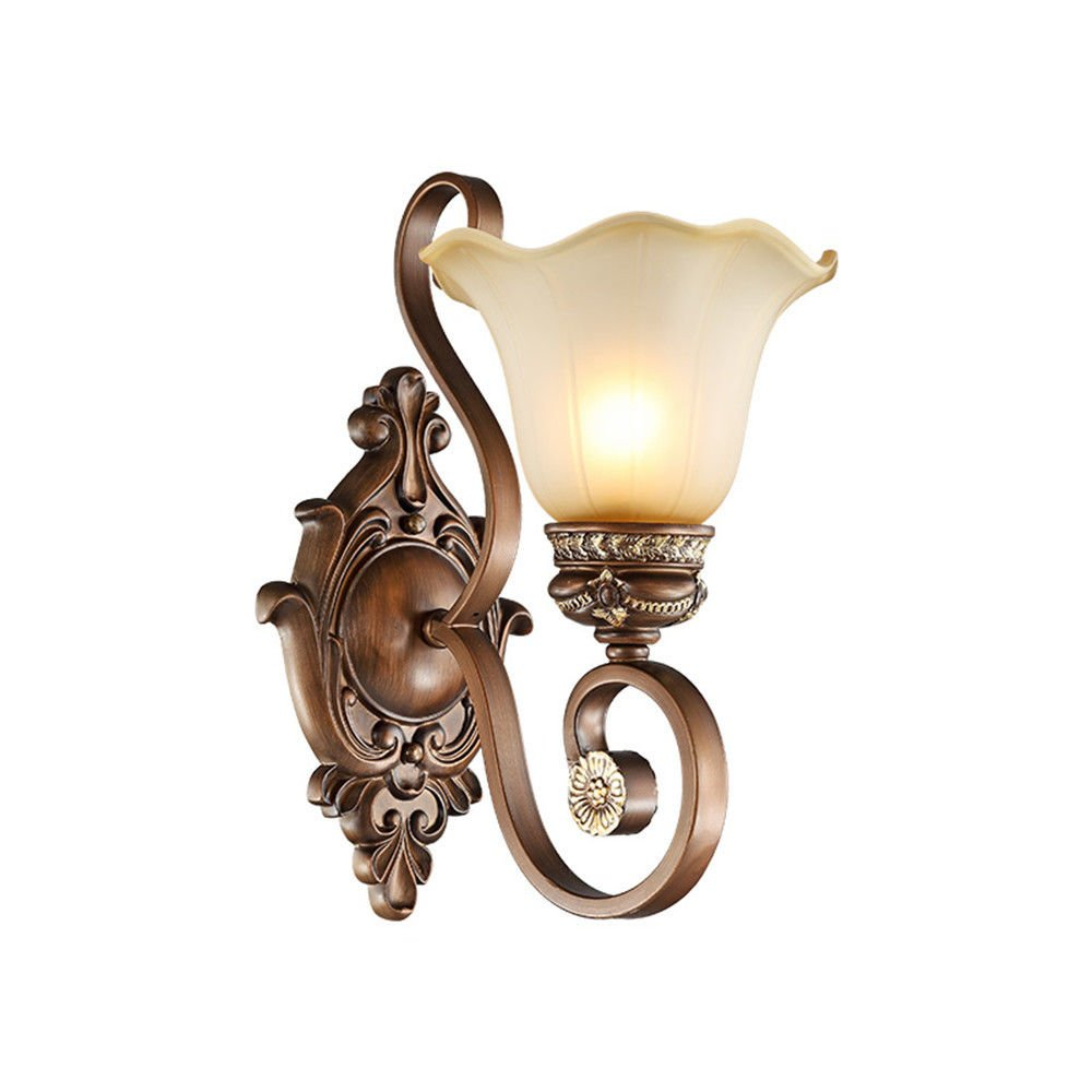 MMYNL Moderne E27 Antik Wandlampe Vintage Wandlampen Wandleuchten für Schlafzimmer Wohnzimmer Bar Flur Bad Küche Balkon Nachttischlampe Idee Wandleuchte