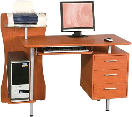 SAL MAR SRL Escritorio/Oficina Mesa con cajones para PC/Impresora ...