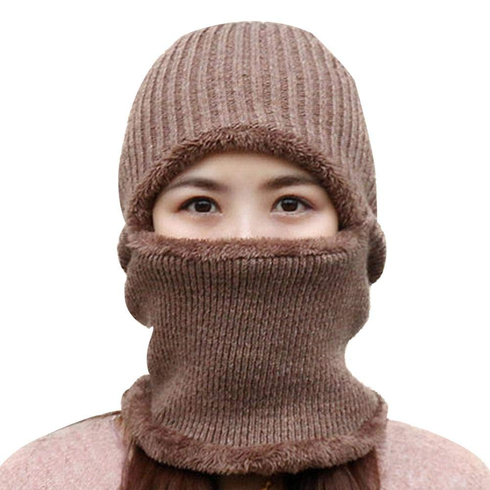 IMSHI Winter Unisex Knitting Beanie Hat - Weather Beanie with Flexible Neck Guard, Riding Hat for Outdoor Sports Cycling Motorcycle Ski IMSHI®