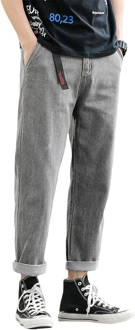 [Mirroryou(ミラーユー)]デニムパンツ メンズ おおきいサイズ ワイドパンツ