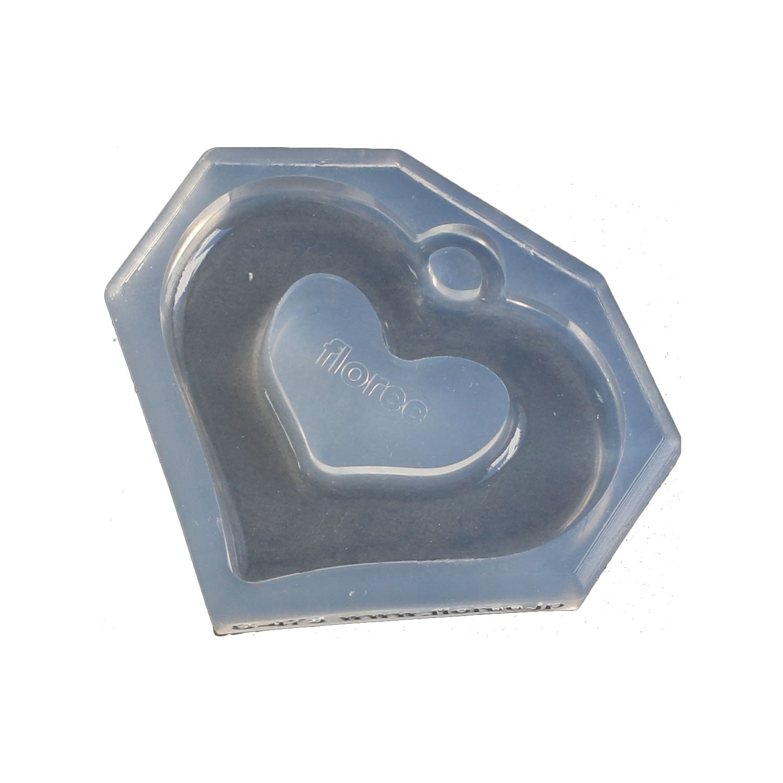 Kameshima one soft mold design frame E vent heart for shopping frame resin craft input KAMREJ475