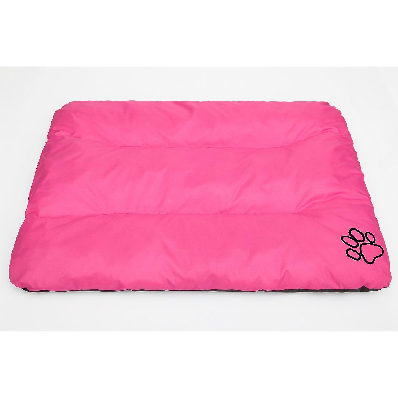 Colore: Rosa 90/x 60/cm Hobbydog R1/ecoroz2/Cuccia Letto Cuscino Eco Riposo Sonno Spazio Spazio Cani Materasso L