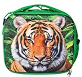 8'' 3D FOAM TIGER LUNCH PACK, Case of 24