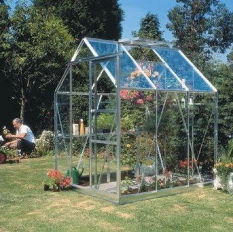 Invernaderos de cristal templado 3, 10 m²: Amazon.es: Jardín