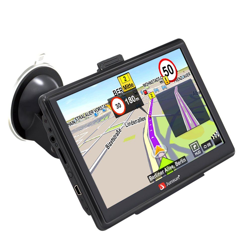 GPS Navigation for Car GPS Navigator System Built-in 8GB FM MP3 MP4 Capacitive Touchscreen Sat nav with Lifetime Maps