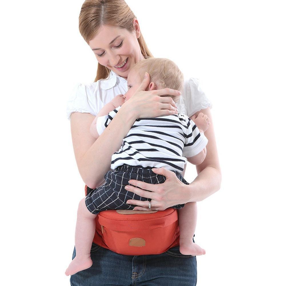 Domybest multifonctionnel Porte bébé Hip Siège ergonomique Portable aux avant et arrière Sangles Sling, à soulager les douleurs de dos