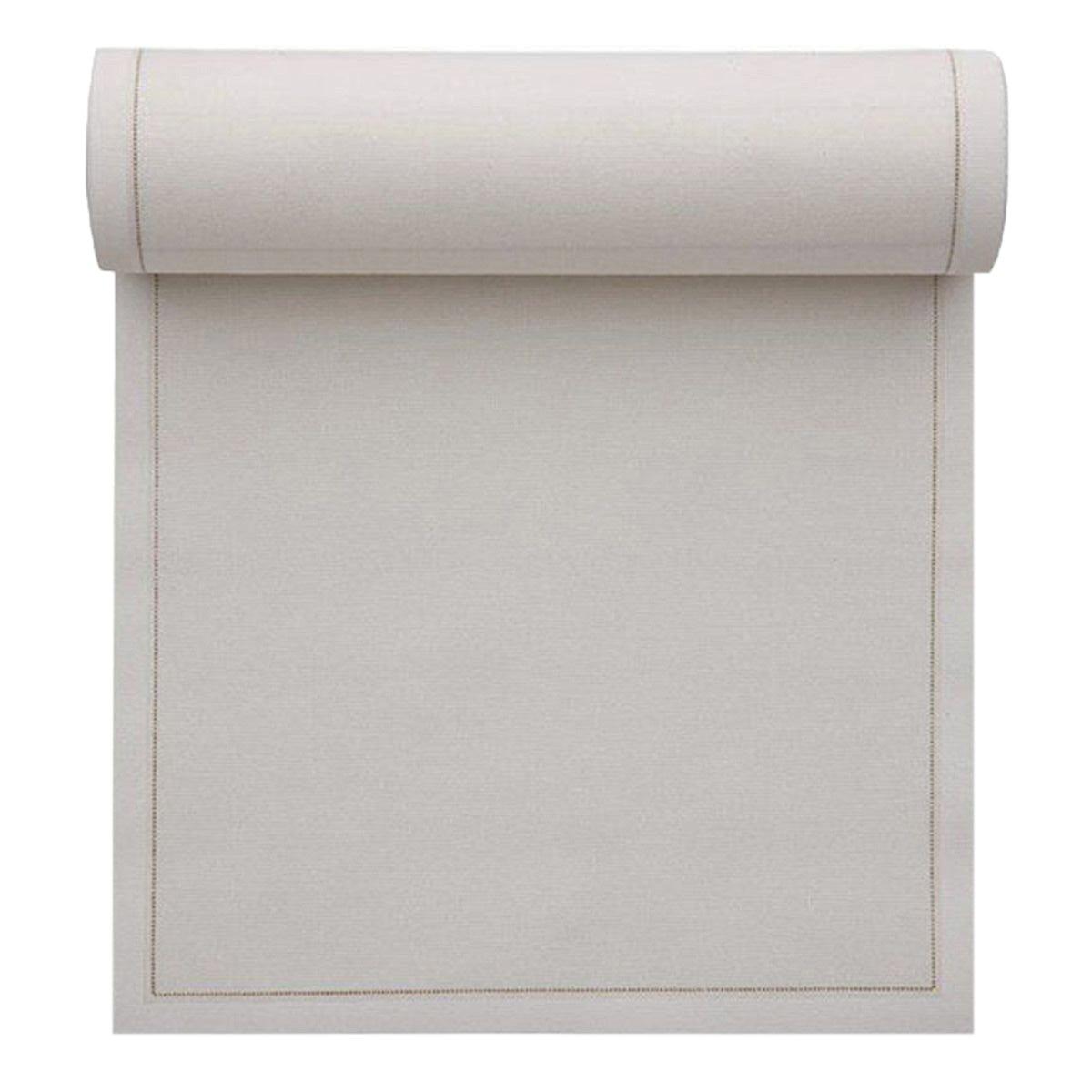 Cotton Dinner Napkin - 12.6 x 12.6 in - 12 units per roll - Ecru by MYdrap (Image #1)