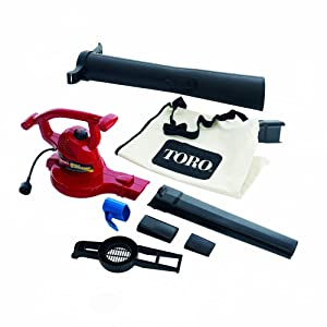 Best leaf shredder/blower - Toro 51609 Ultra 12 amp Variable-Speed (up to 235mph speed) Electric Leaf Vacuum/ Blower with Metal Impeller