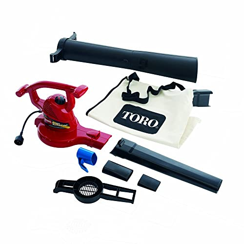 Toro 51609 Ultra 12 amp Variable-Speed up to 235 Electric Blower Vacuum with Metal Impeller