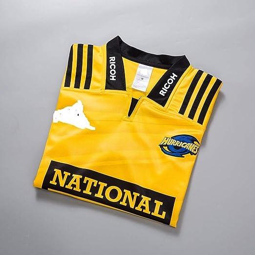 Rerseys MMW 2020 Hurricane Maillot de rugby Nouvelle-Z/élande NRL Hurricane Home Football Wear Top