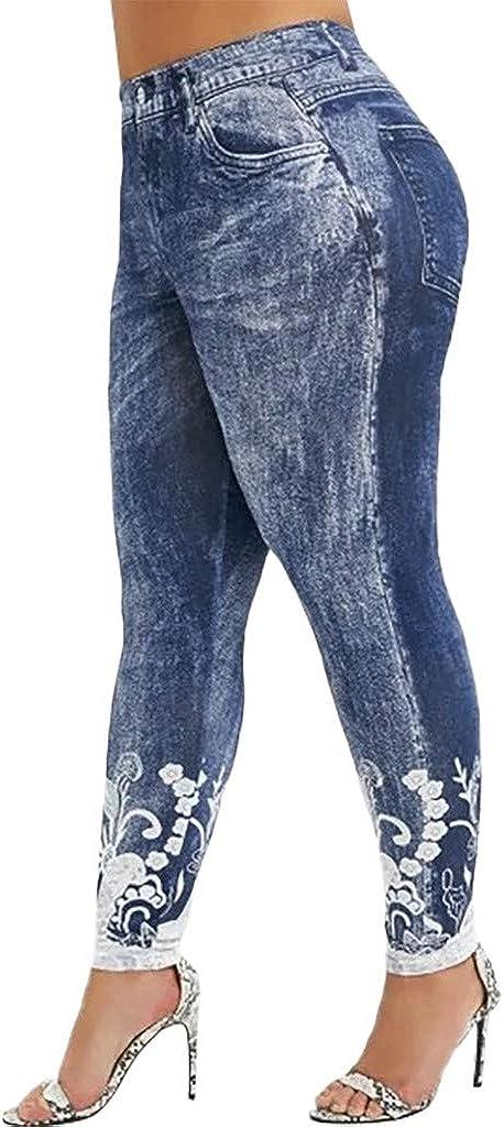 Moda Pantalones de Entrenamiento Gimnasio Athletic Fitness Ejercicio Leggings Atl/ético Pantalones Ch/ándal Mujer Pilates Fit Jogging Leggings de Fitness para Yoga Estampados de Mujer