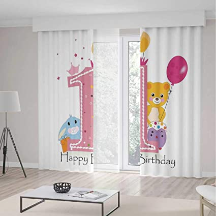 C COABALLA Decor Collection TT01 1st Birthday Decorations For Bedroom Living Dining Room Kids Youth