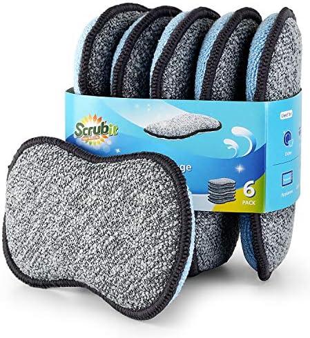 Multi Purpose Scrub Sponges Kitchen Scrub product image