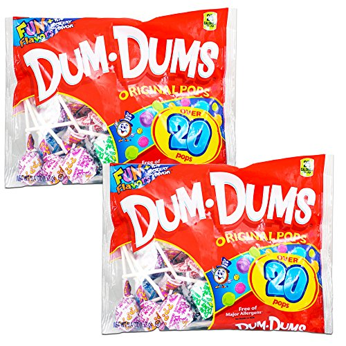- Dum Dums Original Pops - Value Pack (Pack of 2)