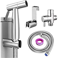 Roccar Handheld Bidet Sprayer for Toilet, Spray Attachment with Hose for Feminine Wash, Baby Cloth Diaper Washer…