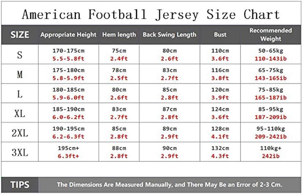 SXFGML Custom # 00 del Jersey del f/útbol de los Hombres de la Camiseta Seahawks Manga Corta Deporte Top Training Bordado Deportes Top Traje de Rugby Jersey