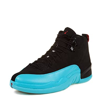 95df5bb4b9bb low price nike mens air jordan 12 retro quotgamma bluequot black gym red  ca142 8de7f