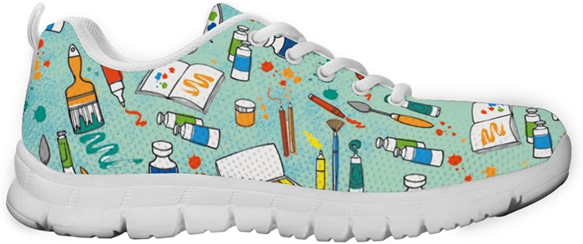 Gnarly Tees Womens Dentist Pattern Sneakers