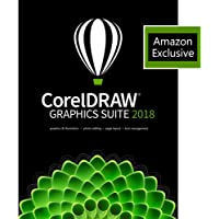 CorelDRAW 2018 Graphics Suite with ParticleShop Brush Pack - Amazon Exclusive [PC Download]